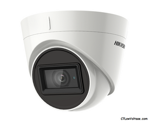 HIKVISION DS-2CE78U1T-IT3F 3.6MM TurboHD 8MP EXIR Outdoor Analog Turret Dome Camera with 3.6mm Fixed Lens, BNC Connection