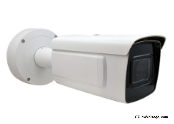 ACTi Corporation VMGB-400 2MP ALPR Metadata IR PoE NETWORK BULLET Camera with f2.8-12mm varifocal lens, RJ45 CONNECTION