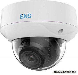 ENS SCC52D7/MZ-M 2MP WDR IR Ultra Low Light TVI/AHD/CVI/CVBS Analog Dome Camera with 2.7~13.5 mm motorized varifocal lens, BNC Connection.