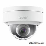 LTS CMIP7342W-28M Platinum Network Vandal Dome IP Outdoor Camera, 4MP, 2.8mm, True WDR, SD card slot,