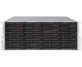 DIGITAL WATCHDOG DW-BJER4U120T Blackjack® E-RACK 4U 24-Bay Chassis 128-Channel 2.1MP 600Mbps RAID 5 Intel® i7® Processor NVR (120TB HDD Included)