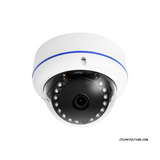 Titanium HDA-VP2M15 2MP IR AHD, HD-TVI, HD-CVI, 960H HD analog outdoor Mini Dome Camera with 3.6mm Fixed Lens, BNC Connection.