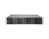 DIGITAL WATCHDOG DW-BJER2U80T-LX Blackjack® E-RACK 2U 12-Bay Chassis 128 Channel 2.1MP 600Mbps NVR (Linux® Ubuntu® 16.04 OS) (80TB HDD Included)