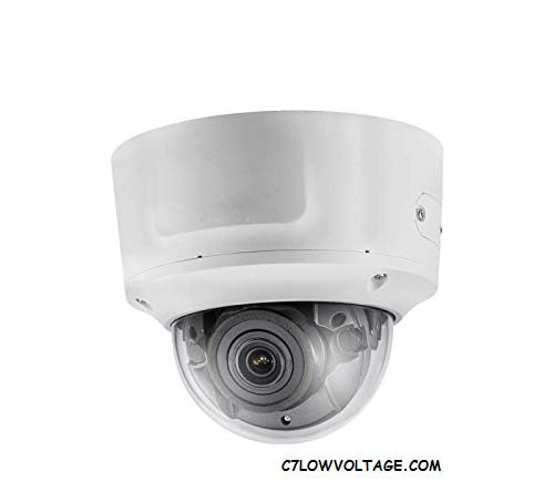 ENS ESNC214-VDZ 4MP WDR 3D DNR Outdoor Dome Network Camera with 2.8~12mm Motorised Varifocal lens , RJ45 Connection