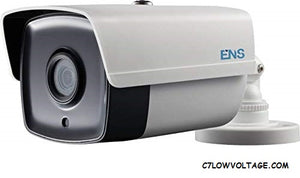 ENS SCC52B5/28-M Starlight 2MP IR Ultra low light WDR TVI/AHD/CVI/CVBS Analog Bullet Camera with 2.8 mm fixed lens, BNC Connection