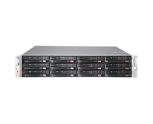 DIGITAL WATCHDOG DW-BJER2U120T Blackjack E-Rack 2U 12-Bay Chassis 128 Channel 2.1MP 600Mbps NVR (120TB HDD Included)