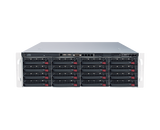 DIGITAL WATCHDOG DW-BJER3U80T-LX Blackjack® E-RACK 3U 16-Bay Chassis 128-Channel 2.1MP 600Mbps RAID 5 Intel® i7® Processor NVR (Linux® Ubuntu® 16.04) (80TB HDD Included)
