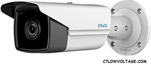 ENS SIP44B5/40-K 4MP IR WDR Bullet Network Camera with 4.0mm Fixed Lens, RJ45 Connection