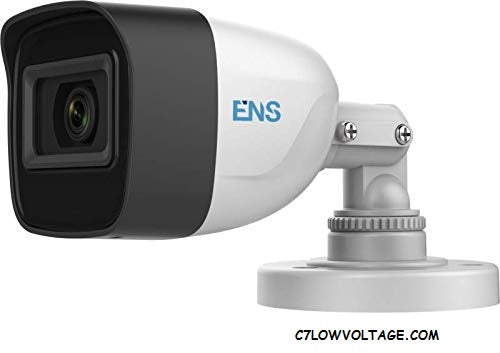 ENS SCC52B3/28-M 2MP IR WDR Ultra Low Light Analog Outdoor Bullet Camera with 2.8 mm fixed lens, BNC Connection.