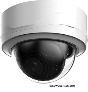 ENS HNC3V241E-IRS-S2/28 Starlight 4MP IR WDR Network Outdoor Dome Camera with 2.8mm Fixed Lens, RJ45 Connection