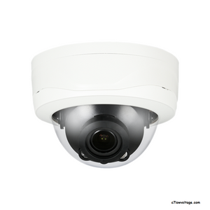 DIAMOND HCC3250R-IR-Z 5MP IR WDR HDCVI Outdoor Analog Dome Camera with 2.7-12mm Lens, BNC Connection