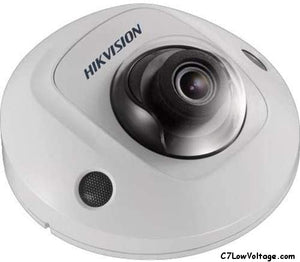 HIKVISION DS-2CD2525FWD-IS 6MM 2MP IR Outdoor Fixed Mini Network Dome Camera with 6mm Lens