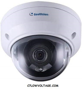 GEOVISION GV-TDR2700 2MP IR PoE Mini Fixed Rugged NETWORK outdoor DOME Camera with 2.8mm Lens RJ45 Connection