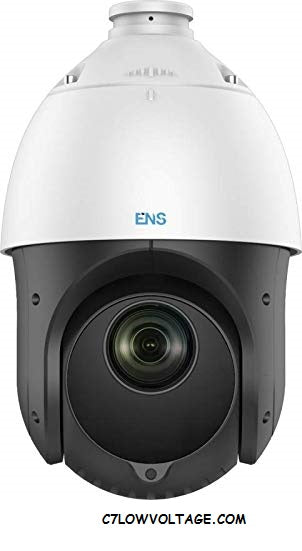 ENS SAZ4C215IR-A Starlight 2MP IR WDR TVI/AHD/CVI/CVBS PTZ Analog Turbo 4-Inch Speed Dome with 5 mm to 75 mm, 15× Optical, BNC Connection