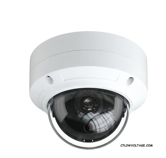 EYEMAX NIT E8032-W28 8MP 4K H.265+ Starlight PoE Outdoor IR Dome Network Camera