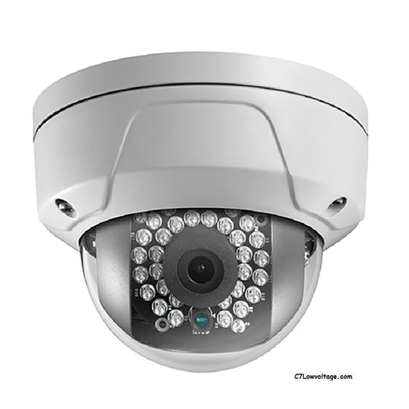 HIKVISION OEM NC312-TD 4MM 2MP HD IR WDR Network outdoor Dome Camera with 4mm fixed lens, RJ45 Connection