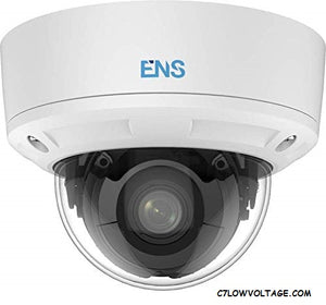 ENS SIP46D3A/MZ-H 6MP IR WDR Network outdoor Dome Camera with 2.8~12mm varifocal lens, RJ45 connection