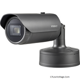 Wisenet XNO-6120R/LPR Low Speed LPR Outdoor IR Network 2MP Bullet Camera ,12X optical zoom Lens (5.2 ~ 62.4mm) (54.58º ~ 5.30º) , RJ45 Connection