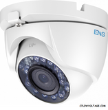 ENS SCC32T2/28-C 2MP IR WDR TVI/AHD/CVI/CVBS HD Outdoor Turret  Dome Camera with 2.8 mm Lens, BNC Connection.