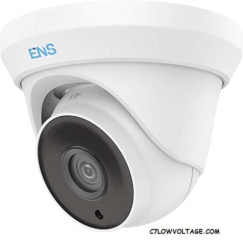 ENS SCC32T4/36-C 2MP WDR TVI/AHD/CVI/CVBS HD outdoor dome Turret Camera with 3.6mm lens, BNC Connection