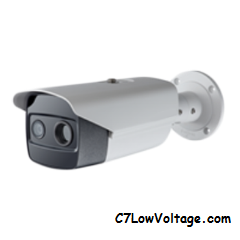 ACTi Corporation VMGB-351 2MP Optical and Thermal Metadata IR PoE Network Bullet Camera with f6.0mm Lens RJ45 Connection
