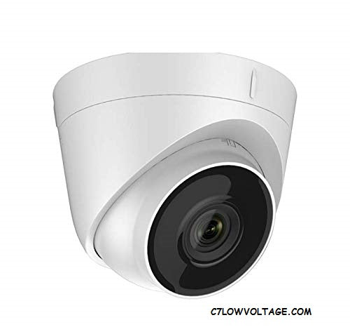 ENS ESAC326-FD4/36 5MP IR WDR EXIR TVI/AHD/CVI/CVBS Analog outdoor Turret Dome Camera with 3.6mm Lens, BNC Connection