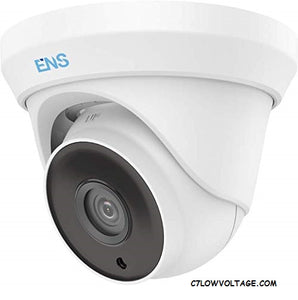 ENS SCC32T4/28-C 2MP IR WDR TVI/AHD/CVI/CVBS HD outdoor Analog Dome Camera with 2.8mm Lens, BNC Connection.