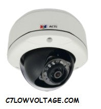 Acti Corporation E73A 5MP IR Basic WDR Outdoor Network Dome Camera with 2.93mm Fixed Lens, RJ45 Connection