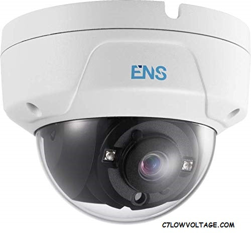ENS SCC32D2/28-C 2MP IR WDR TVI/AHD/CVI/CVBS HD outdoor Analog Dome Camera with 2.8mm Lens, BNC Connection.