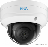 ENS SIP46D3/28-H 6MP IR WDR Network Outdoor Dome Camera with 2.8mm fixed lens, RJ45 Connection
