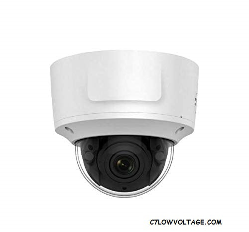 ENS ESNC328-VDZ 8MP IR WDR PoE 3D DNR Network Outdoor Dome Camera with 2.8~12mm Vari-focal Lens, RJ45 Connection