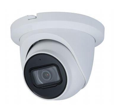 Dahua Oem IPC-EB244TM-IR 2.8mm , 4MP WDR IR Outdoor Eyeball Network Camera 2.8mm Fixed lens , RJ45 Connection