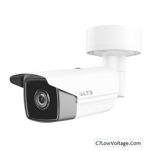 LTS LTCMIP9382NW-M, Platinum Matrix IR Bullet Network IP Camera,8MP,4mm,True WDR,Matrix IR 2.0,SD card slot RJ45 Connection