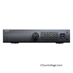 LTS LTD9224T-FA Platinum Enterprise Level 24 Channel HD-TVI DVR , 2U, SATA up to 48GB, No Pre-Installed Storage