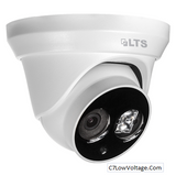 LTS LTCMIP1142 , Platinum Fixed Lens Turret Network IP Camera,4.1MP, 4mm  RJ45 Connection