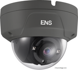 ENS SCC35D2/G28-H 5MP IR WDR  TVI/AHD/CVI/CVBS HD  Outdoor analog Dome Camera with 2.8mm Lens, BNC Connection.