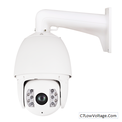 LTS LTPTZIP762X20IR, Platinum IP PTZ High Speed Dome Camera, 2.1MP, 4.7-94mm ,20xOptical Zoom RJ45 Connection