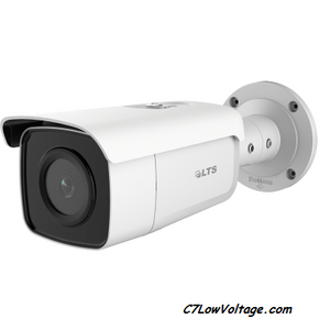 LTS CMIP9D42W-28MI 4MP 30fps AI Ultra Darksight IP Bullet 0.012 Lux MSDCard Slot, Weatherproof IP67, RJ45 Connection.