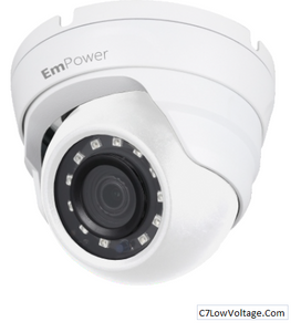 LTS IP-5EB-F28-SAL, Unisight IR Mini Eyeball Network Camera, 5MP, 2.8mm   RJ45 Connection .