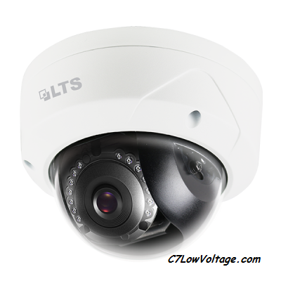 LTS CMIP7422N-28WIFI  Platinum Network Mini WiFi Dome Camera, 2MP, 2.8mm, Wireless, H.264, DWDR, Built-in Wi-Fi , RJ45 Connection