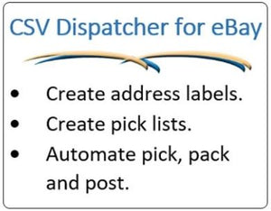 Dispatcher for eBay | Recently updated to include an alphabetised pick list | Begin a trial today!