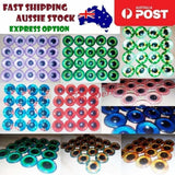 8pcs 12mm Pink Blue Red Grey Green Yellow Glass Doll Eyes Toys DIY Craft Toy | Asia Sell