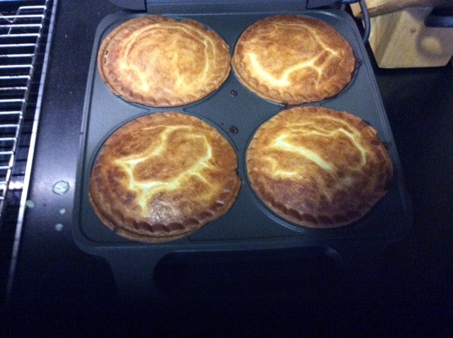 We made some pies!
