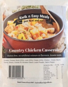 Kwik n Easy Meals Country Chicken Casserole