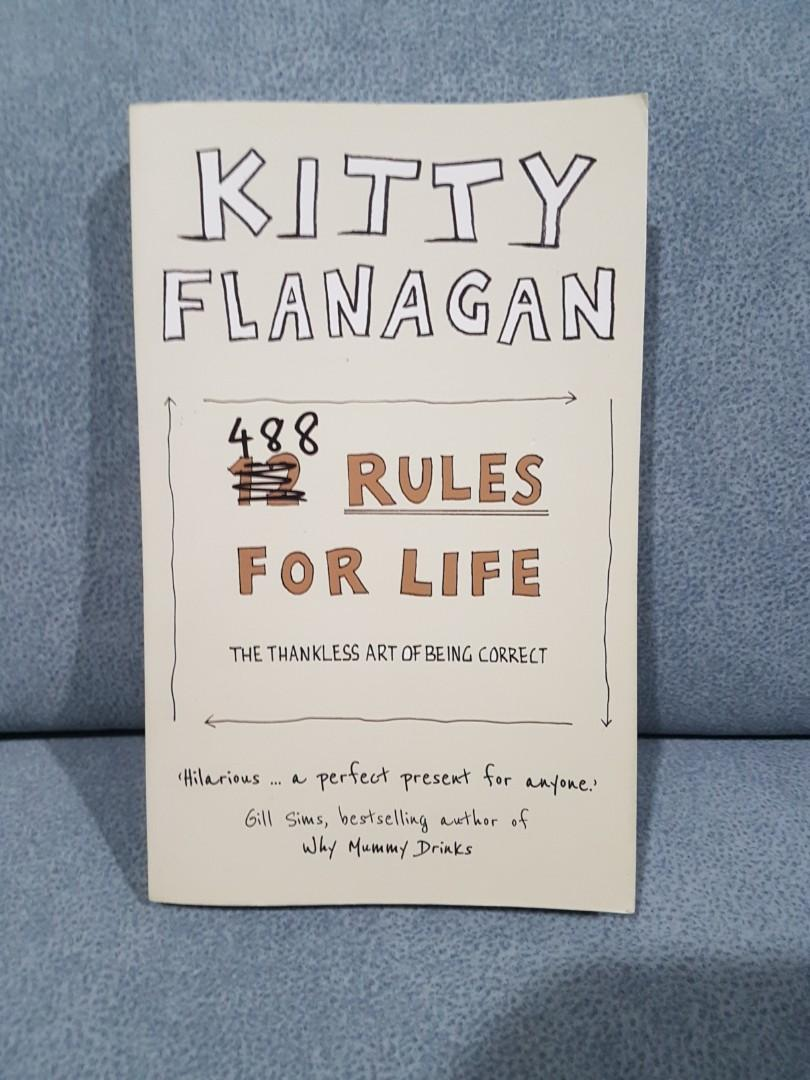 Kitty Flanagan 488 Rules for life