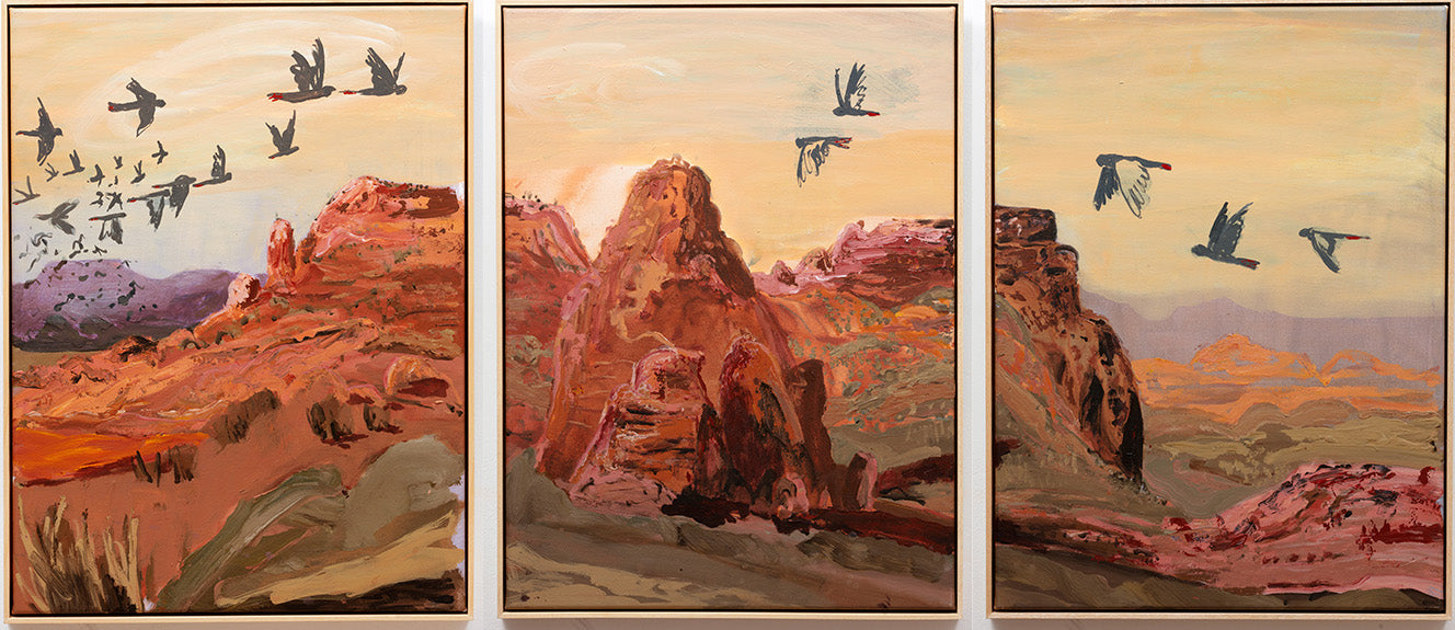 AMBER RENDEZVOUS [TRIPTYCH]   EMILY IMESON