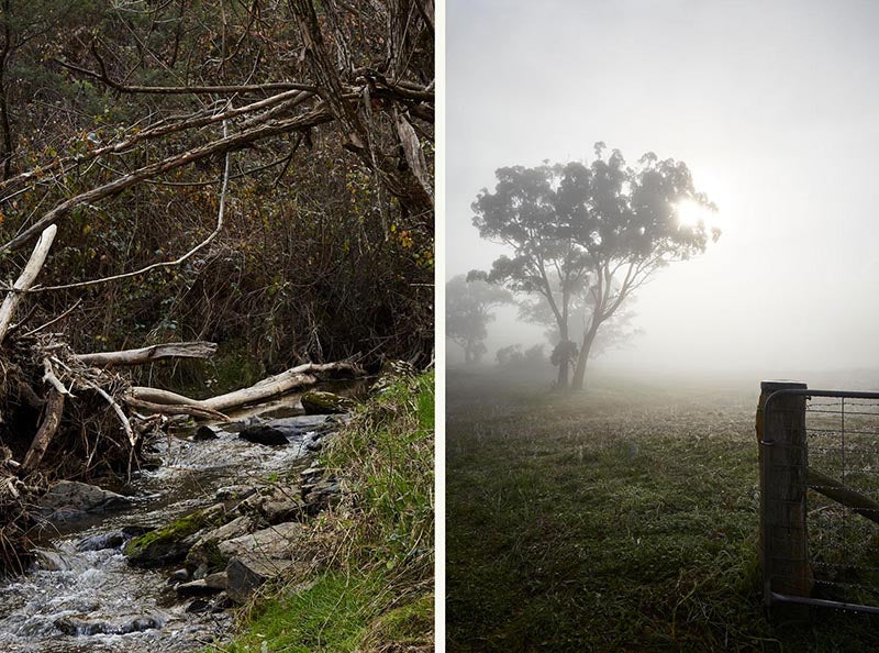 Australian landscape photography at Southern Wild Co, Australian candle brand