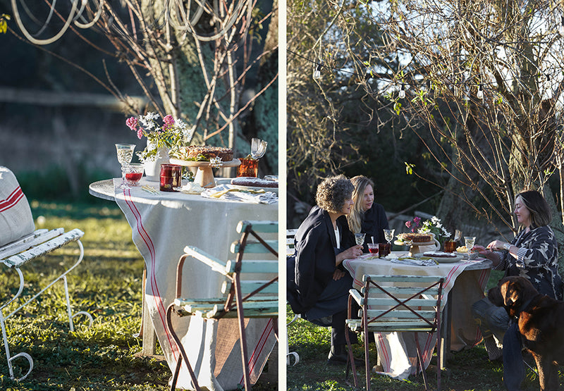 an afternoon tea party to celebrate Southern Wild Co's third birthday