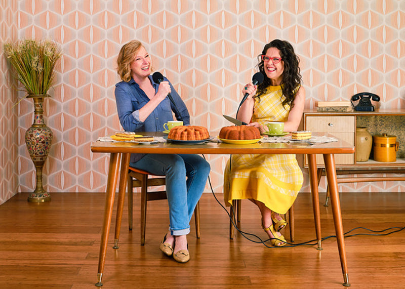 Annabel Crabb and Leigh Sales chat 10 looks 3
