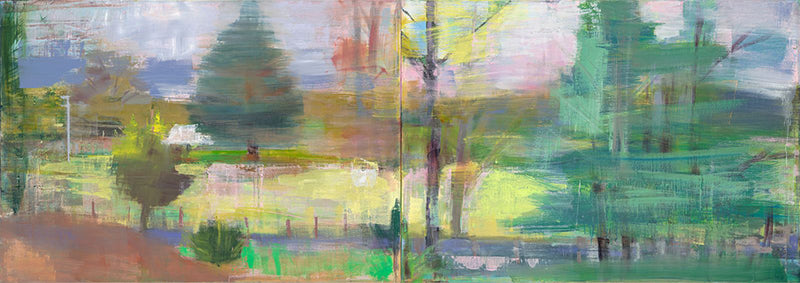 The view from here by artist susan Baird, Australian landscape painter